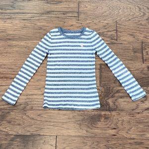 Gray & White Girl Size 5/6 Abercrombie Kid Sweater